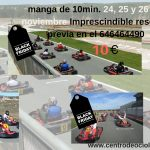 Black Friday Karting Luis Miguel